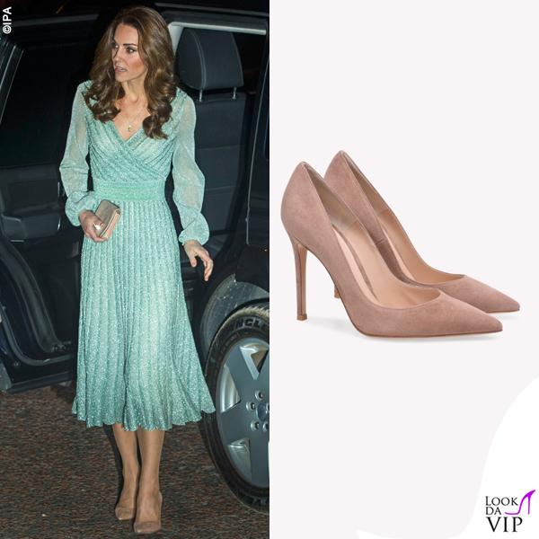 Kate Middleton pump Gianvito Rossi