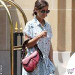 Katie Holmes borsa Saddle bag Dior