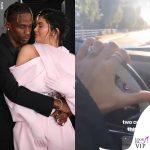 Kylie Jenner anello di fidanzamento