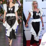 Lady Gaga abito Rodarte 2