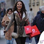 Laura Barriales shopping Mazzolari