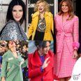 Laura Pausini Sandra Milo Melania Trump Arisa Meghan Markle cappotti