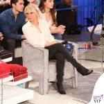 Maria De Filippi Amici 20190216 stivaletti Rick Owens