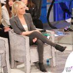 Maria De Filippi Amici 20190323 jeans neri stivaletti Rick Owens