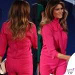 Melania Trump camicia Gucci Pussy bow