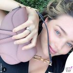 Miranda Kerr borsa Saddle bag Dior