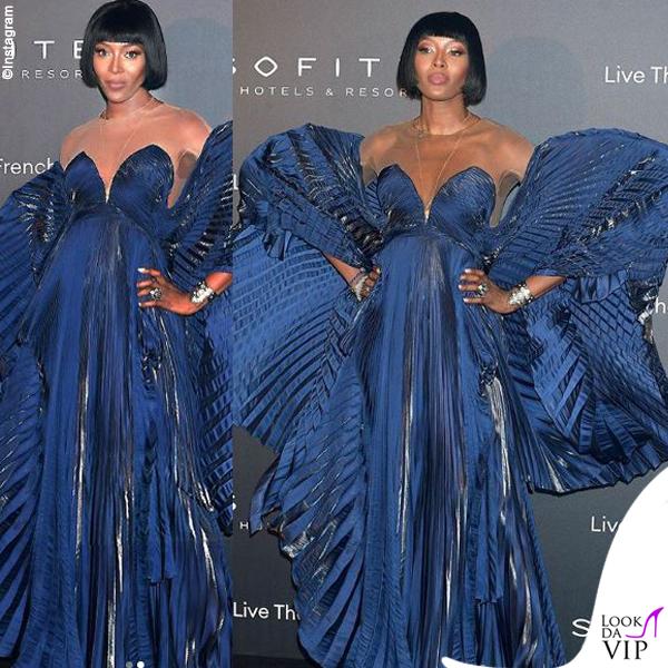 Naomi Campbell abito Iris Van Herpen