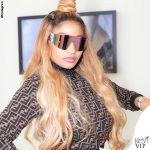Nicki Minaj outfit Fendi