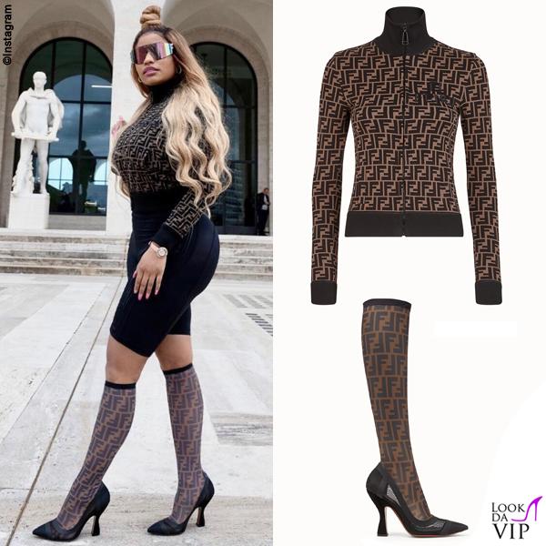 Nicki Minaj outfit Fendi 2