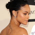 Rihanna tatuaggio schiena