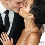 Zoe Kravitz anello di fidanzamento