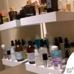 il ripiano dedicato alla skin care