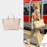 Alessia Marcuzzi borsa Marks&Angels Claudia lamb