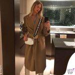 Alessia Marcuzzi borsa Marks&Angels Mini Gaia bianca 1