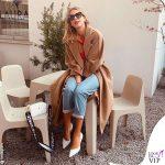 Alessia Marcuzzi borsa Marks&Angels Mini Gaia bianca