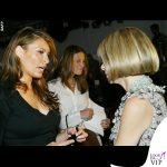 Anna Wintour e Melania Trump sfilata J Mendel 2005