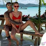 Chiara Ferragni Fedez Polinesia bikini Calzedonia