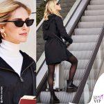 Chiara Ferragni calze Calzedonia scarpe Doctor Martens 1