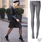 Chiara Ferragni collant Calzedonia total black 1