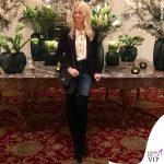 Claudia Schiffer borsa Chanel 5