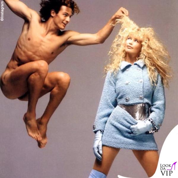 Claudia Schiffer campagna Versace 1994