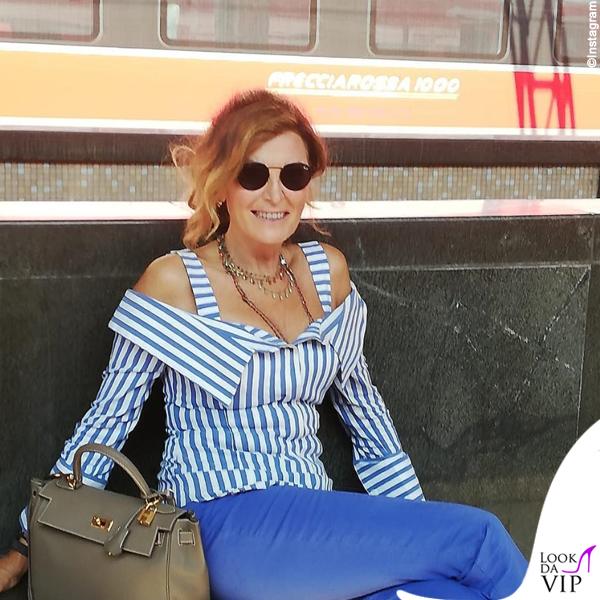 Daniela Santanche borsa Hermes Kelly etoupe 2