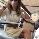 Daniela Santanche borsa Hermes Kelly toile barenia