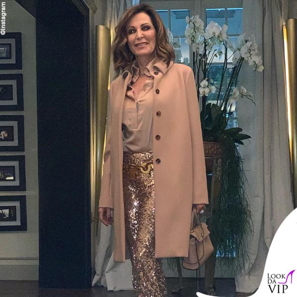 Daniela Santanche borsa Hermes mini Kelly etoupe
