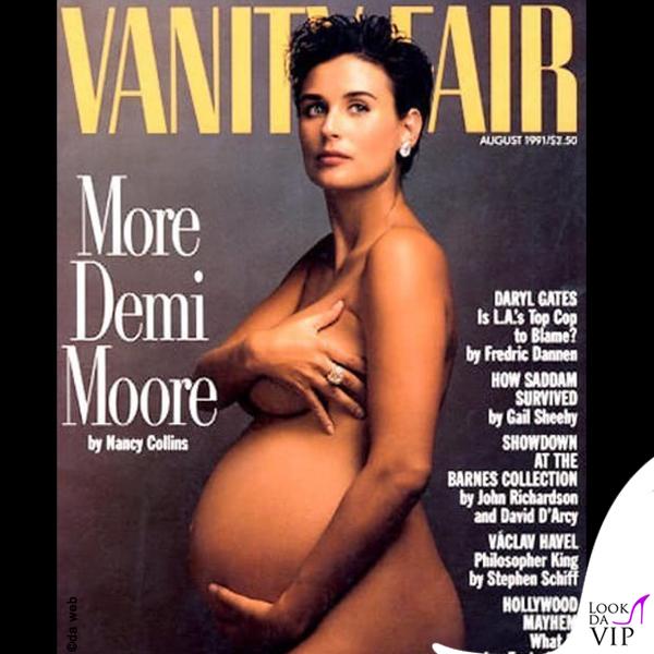 Demi Moore incinta Vanity Fair