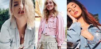 Emma Marrone Chiara Ferragni Belen Rodriguez Giulia Salemi Alessia Marcuzzi jeans&jeans