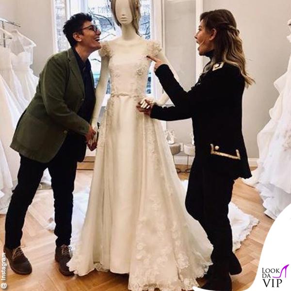 \u003c \u003e · Eva Grimaldi Imma Battaglia abito da sposa