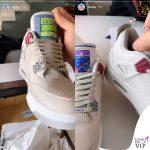 Fedez sneakers Jordan Game Boy Freaker Sneaks