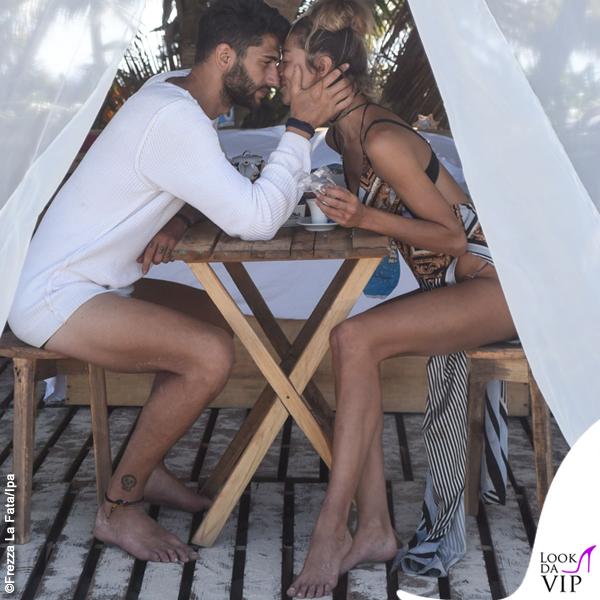 Isola Jeremias Rodriguez Soleil Sorgè bikini vestito Effek