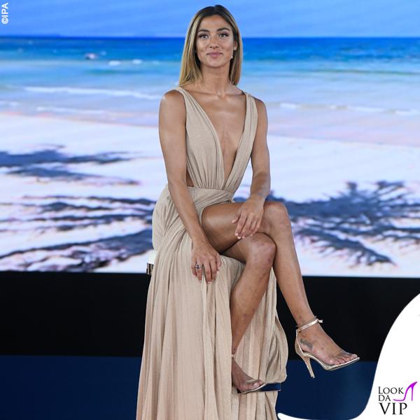 Isola finale Soleil Sorgè abito Elisabetta Franchi 8