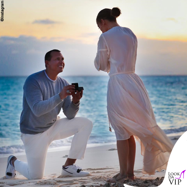 Jennifer Lopez proposta di matrimonio