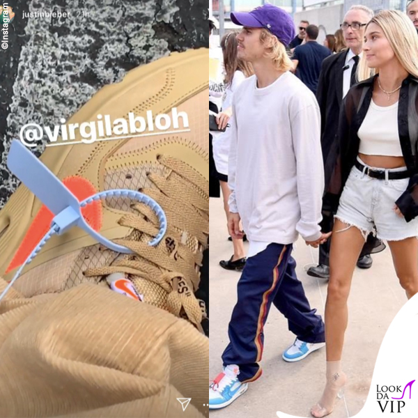Justin Bieber sneakers Nike Off-White 2