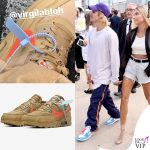 Justin Bieber sneakers Nike Off-White 3