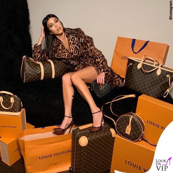 Kourtney Kardashian borse Louis Vuitton