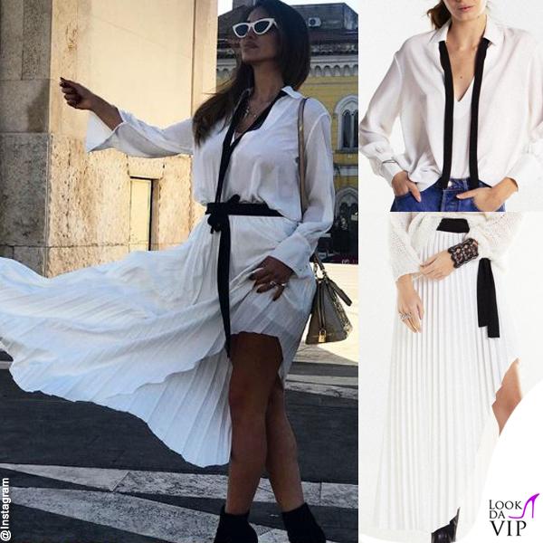 Rosa Perrotta blusa I Am gonna I Am borsa Louis Vuitton