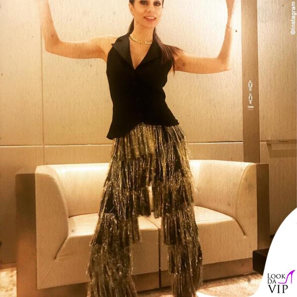 Rossella Brescia outfit Space Simona Corsellini