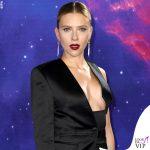 Scarlett Johansson Avengers Endgame Londra completo Tom Ford 2