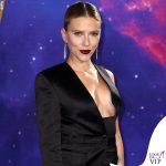 Scarlett Johansson Avengers Endgame Londra completo Tom Ford 6