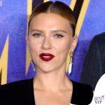 Scarlett Johansson Avengers Endgame Londra completo Tom Ford 8
