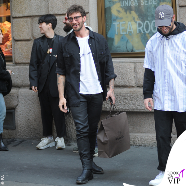 Stefano De Martino shopping Church