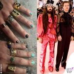 Alessandro Michele Harry Styles MET 2019 outfit Gucci unghie
