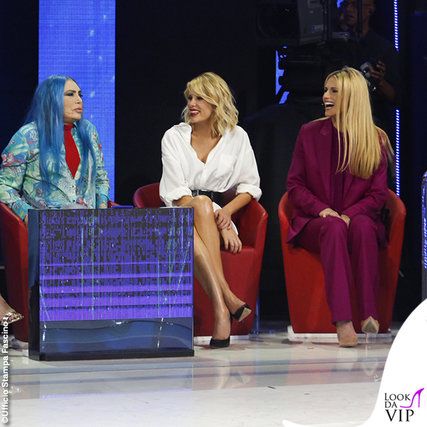 Amici finale Loredana Berte Alessia Marcuzzi Michelle Hunziker