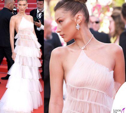 Bella Hadid terza serata abito Dior gioielli Bulgari 1