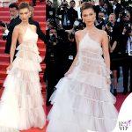 Bella Hadid terza serata abito Dior gioielli Bulgari 5