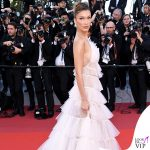 Bella Hadid terza serata abito Dior gioielli Bulgari 7