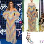 Cheryl Cole abito Rami Kadi sandali Christian Louboutin